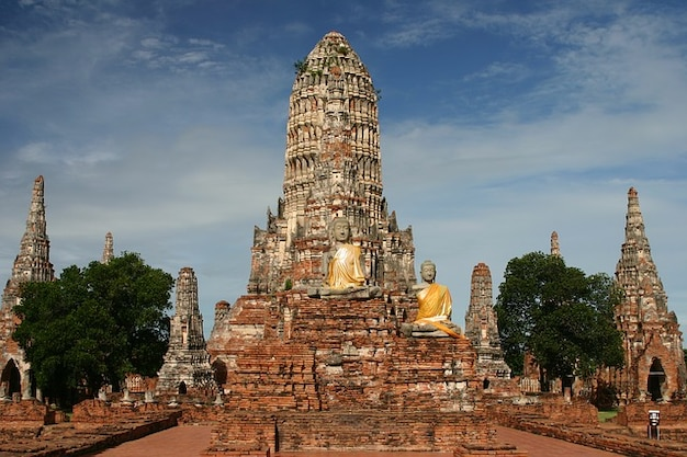 Chai boeddhisme wat tempel ayutthaya watthanaram