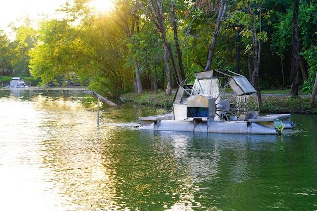 Chaipattana lage snelheid oppervlaktebeluchter, water turbine mechanische beluchter