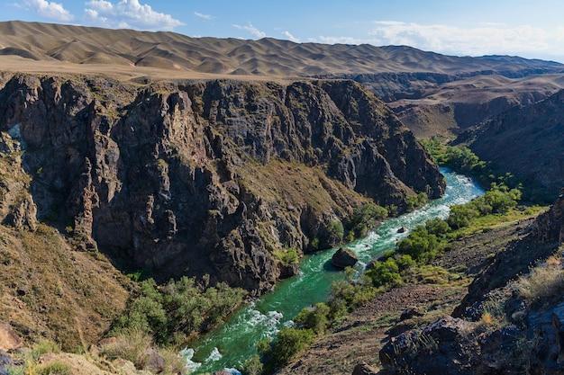 Charyn canyon in kazachstan