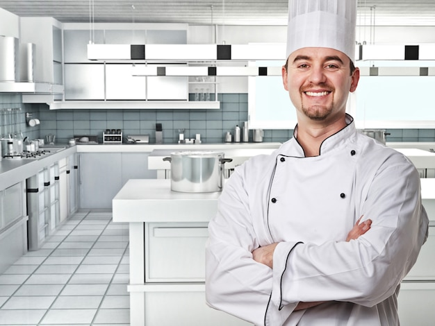Chef portrair