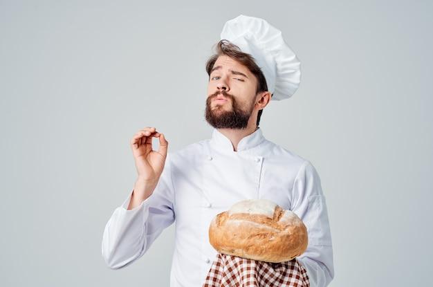 Chef restaurant dienstverlening professionele emoties