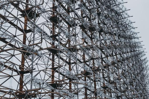 Chernobyl-2 - sovjet over-the-horizon oth-radarsysteem van de raketverdediging. tsjernobyl, pripyat