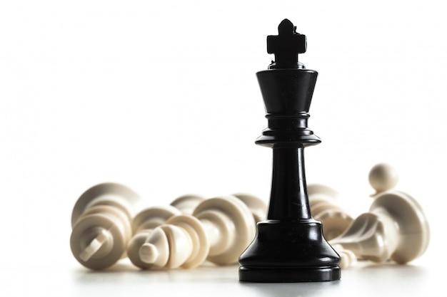 Chess figuur geïsoleerd