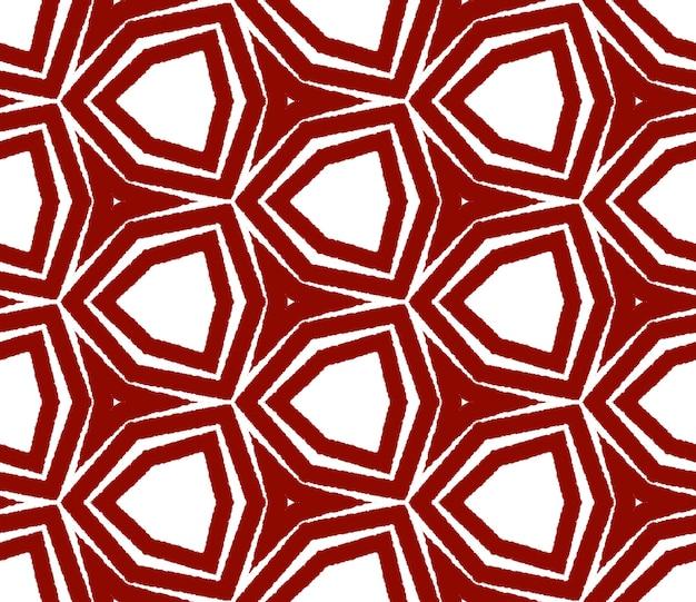 Chevron strepen ontwerp. kastanjebruine symmetrische caleidoscoopachtergrond. textiel klaar glamoureuze print, badmode stof, behang, inwikkeling. geometrische chevron strepen patroon.