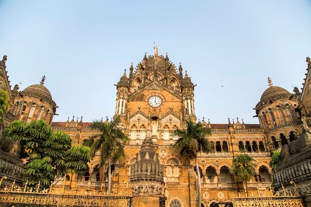 Chhatrapati shivaji terminus in mumbai, india.