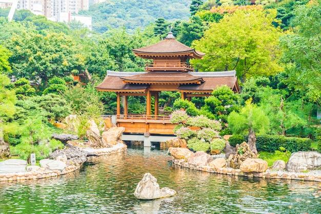 Chi lin-tempel in nan lian tuin