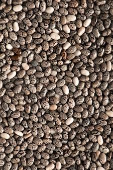 Chiazaad, textuur, waardevol voedsel, bron van omega 3-zuren en vitamines.