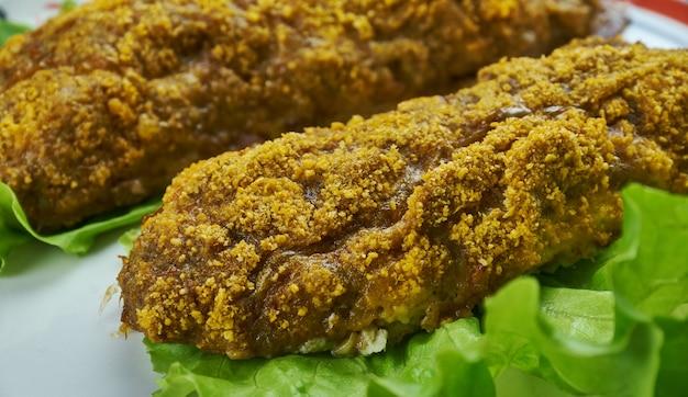 Chicken tikka kebab - de meest populaire kipschotel komt oorspronkelijk uit india