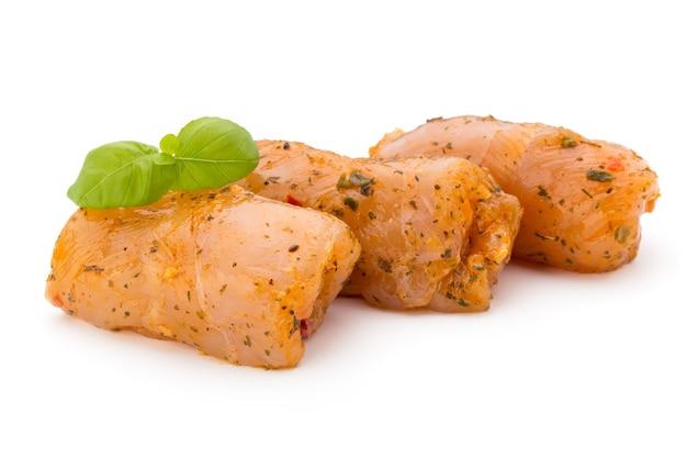 Chiken vleesrolletjes geïsoleerd