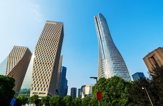 China chongqing wolkenkrabbers