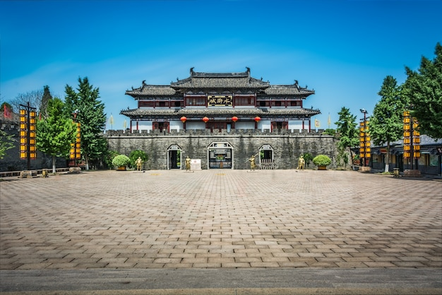 China oude gebouw