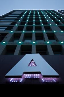 Chinees hotel - vooraanzicht, gebouw a