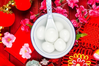 Chinees lantaarnfestival eten