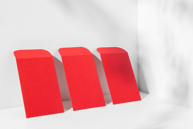 Chinees nieuwjaar concept in isometrische stijl