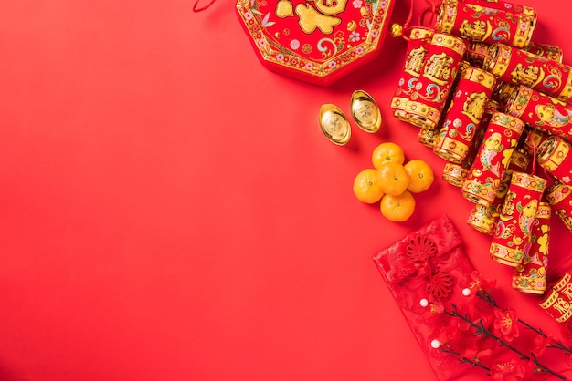 Chinees nieuwjaar feest decoraties