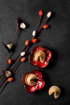 Chinees nieuwjaar met gelukskoekjes