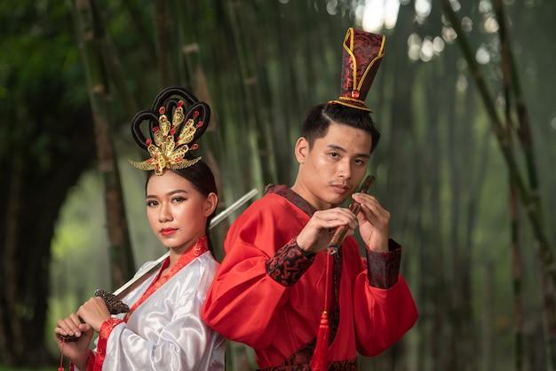 Chinees oud kostuum