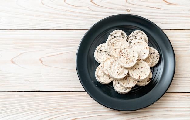 Chinees snoepje gemaakt van rijstmeel