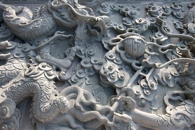 Chinese granieten muur textuur