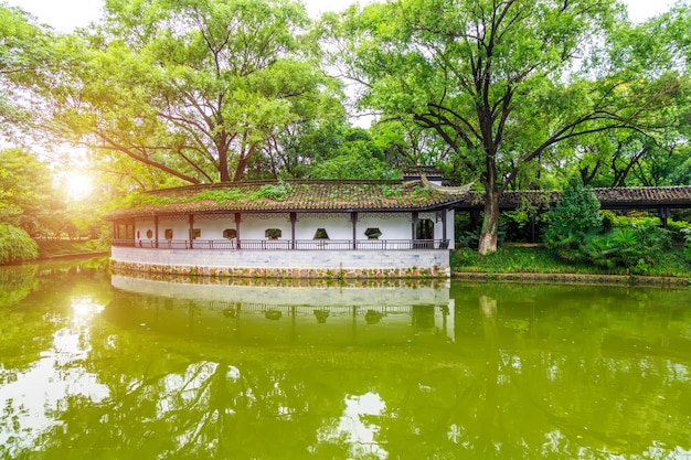 Chinese klassieke architecturale tuinen