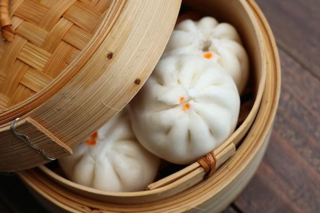 Chinese knoedel gestoomde broodjes