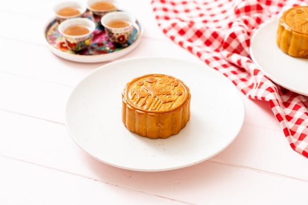 Chinese maancake voor chinees medio herfstfestival