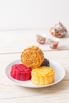 Chinese maancake voor mid-autumn festival