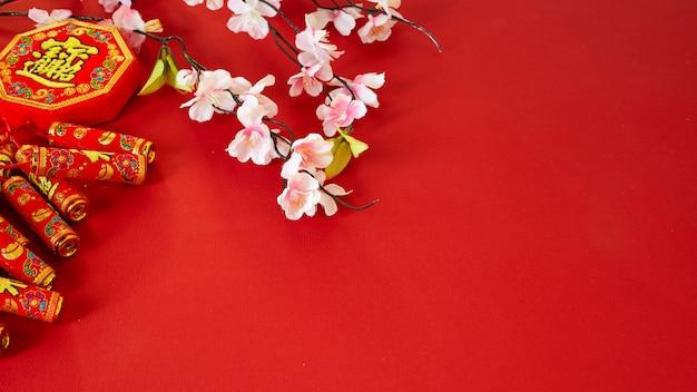 Chinese nieuwe pruimbloemen van het jaarfestival