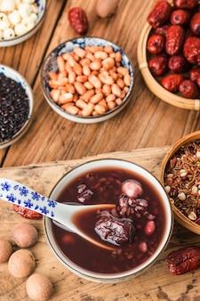 Chinese noordelijke keuken, laba-pap, acht schatpap