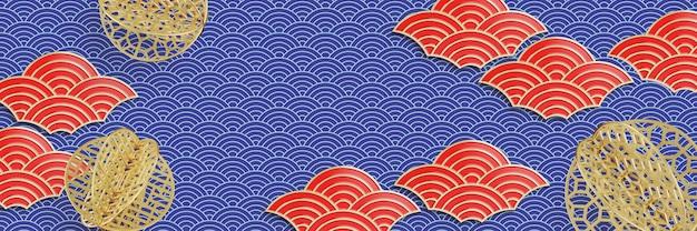 Chinese stijl papier gesneden.