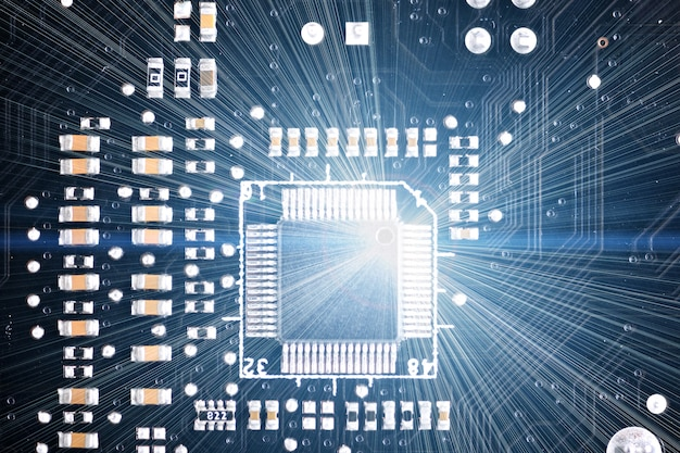 Chipset op computer