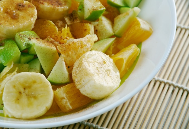 Chlada fakya afrikaanse fruitsalade