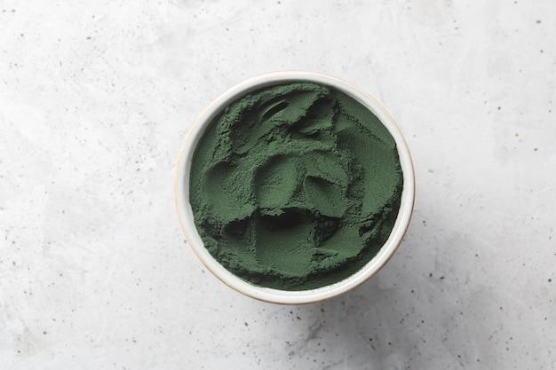 Chlorella eencellige groene algen.