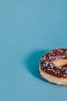 Chocolade geglazuurde donut