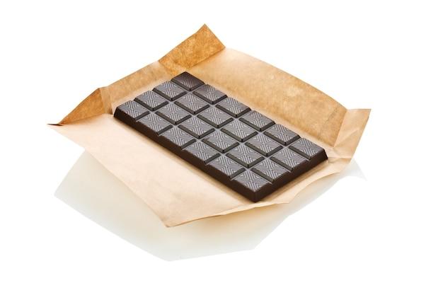 Chocolade geïsoleerd
