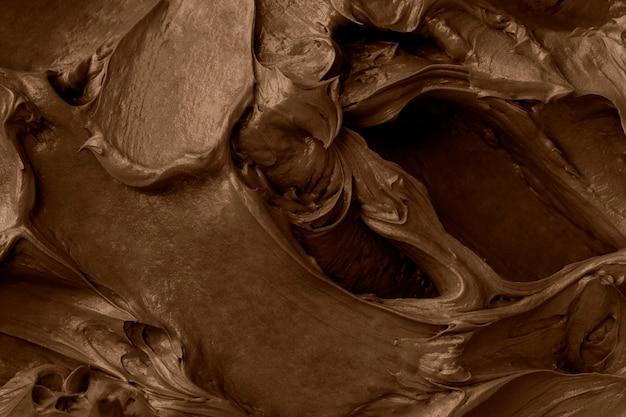 Chocolade glazuur textuur achtergrond close-up