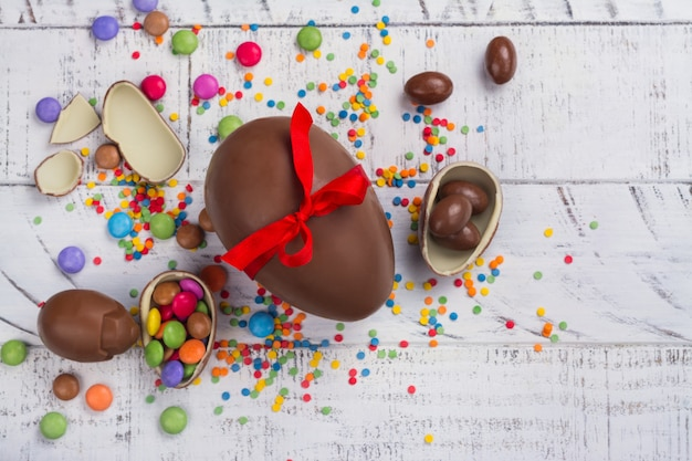 Chocolade paasei