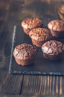 Chocolademuffins