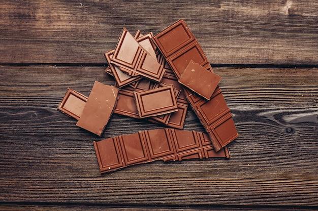 Chocoladereep muur
