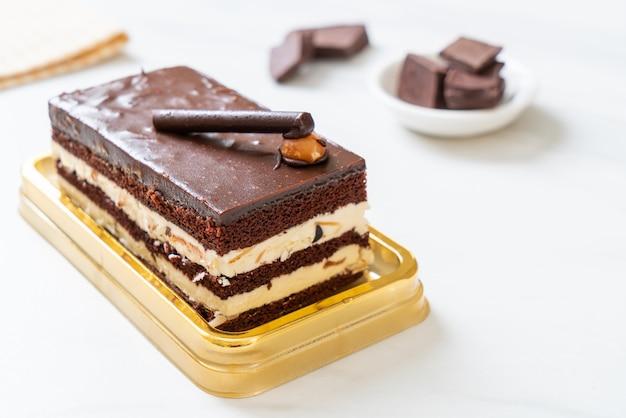 Chocoladetaart met amandelen