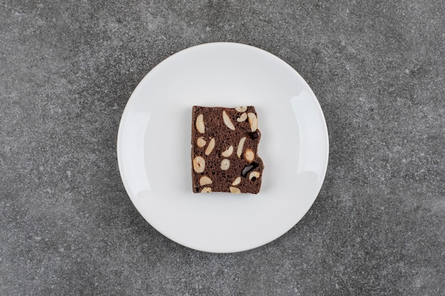 Chocoladetaart met pinda