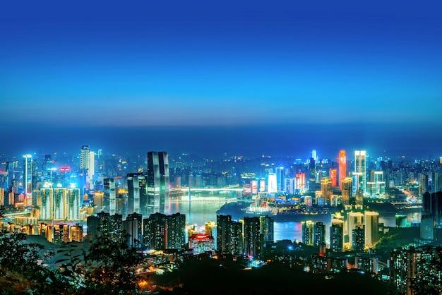 Chongqing nachtscène