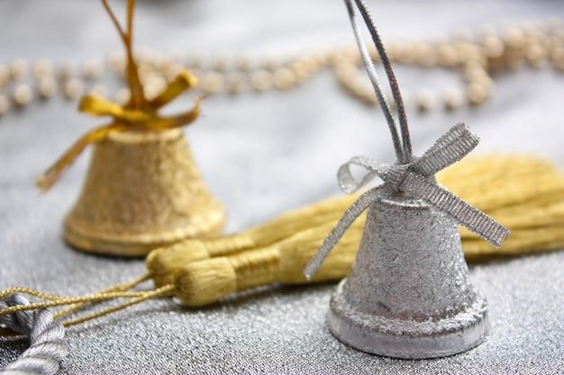 Christmas bell op kerstmis ruimte