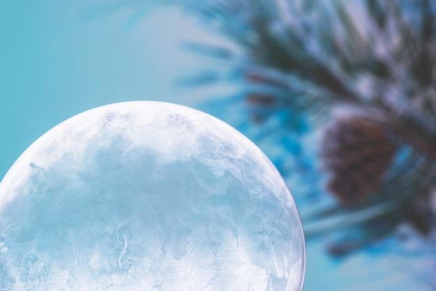Christmas snow globe sneeuwvlok