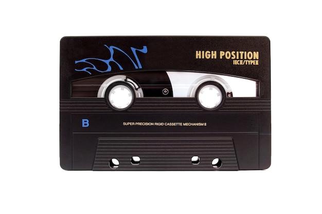 Chrome cassette geïsoleerd