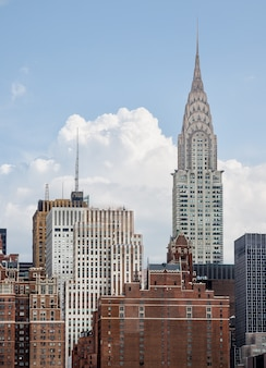 Chrysler building. midtown manhattan