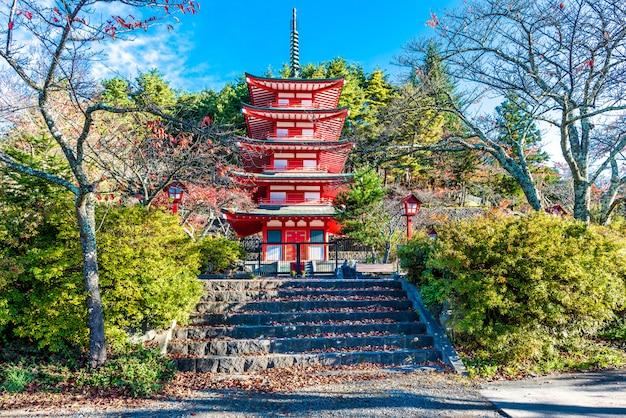 Chureito-pagode van fuji