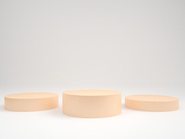 Cilinderpodia voor productpresentatie