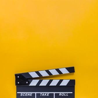 Cinema clapperboard