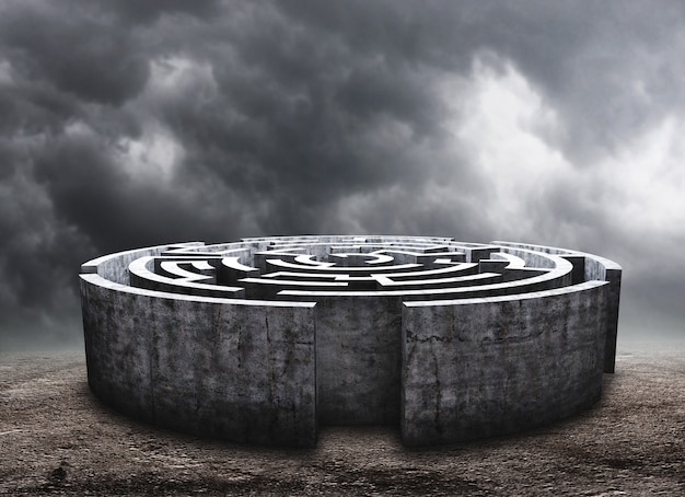 Circulair labyrint
